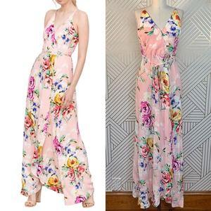 Yumi Kim Rush Hour Maxi Dress Lovers Bouquet Pink